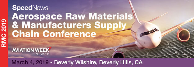 SpeedNews Aerospace Raw Materials & Manufacturers Supply Chain Conference
